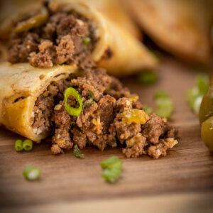 Meet olives empanadas