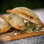 Spinach empanadas