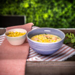 Zesty shrimp corn chowder